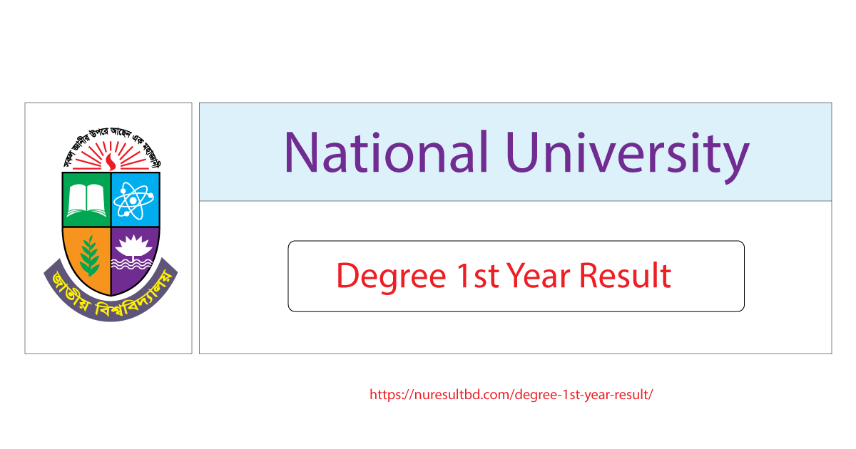 NU Degree First Year Result